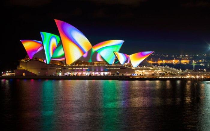Sydney luci e colore